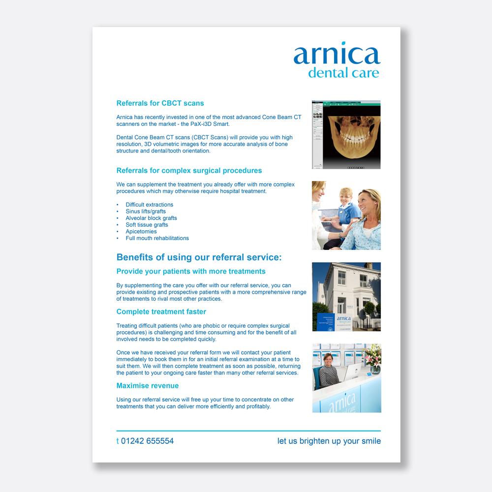 Dental Referral Service | Arnica Dental Care Cheltenham