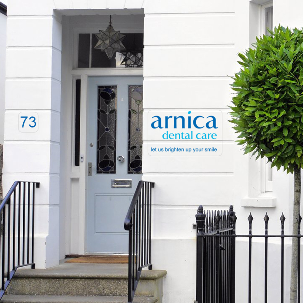 Arnica Front of Building