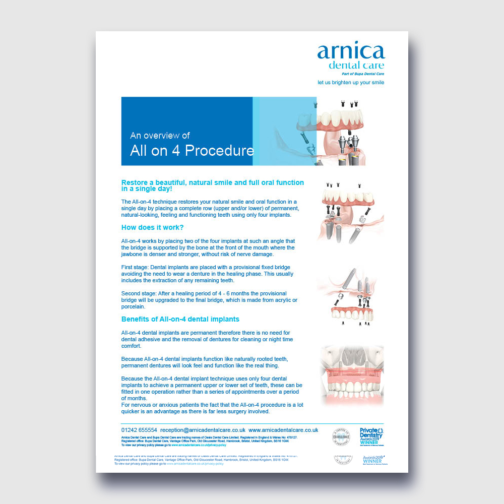 Arnica - All-on-4 Procedure Cover