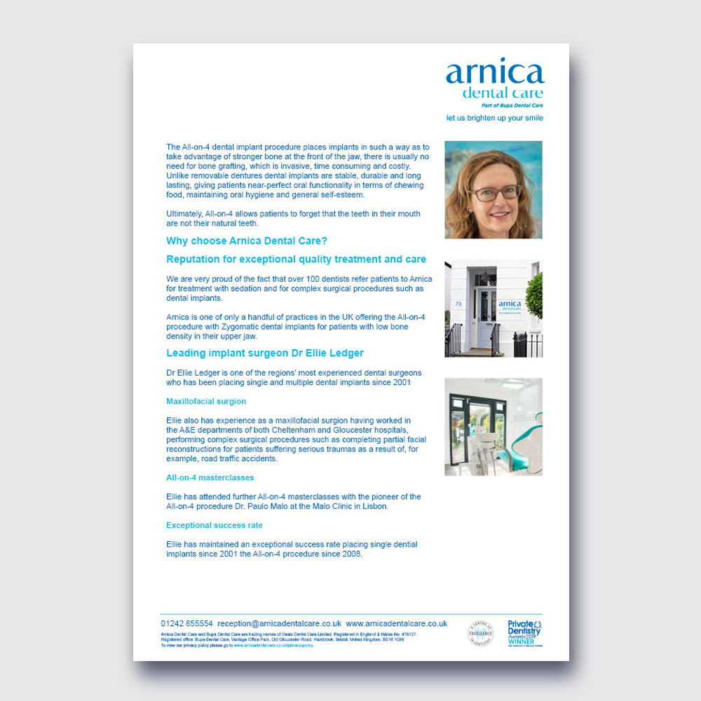Arnica - All-on-4 Procedure P2